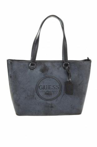 Γυναικεία τσάντα Guess, Χρώμα Γκρί, Δερματίνη, Τιμή 100,13€