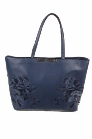 Γυναικεία τσάντα Guess, Χρώμα Μπλέ, Δερματίνη, Τιμή 100,13€