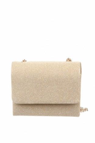 Дамска чанта Menbur, Цвят Златист, Текстил, Цена 59,25лв.