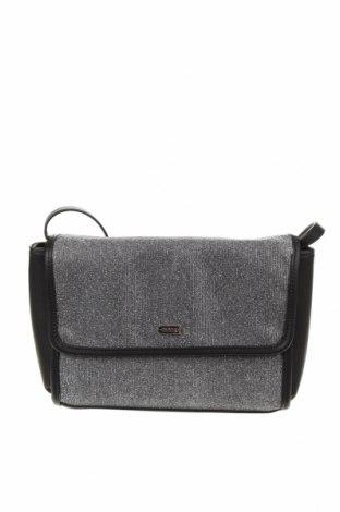 Dámská kabelka  Mtng, Barva Stříbrná, Textile , Eko kůže, Cena  305,00Kč