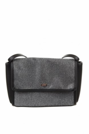 Dámská kabelka  Mtng, Barva Stříbrná, Textile , Eko kůže, Cena  300,00Kč