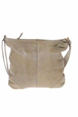Γυναικεία τσάντα Nero Pantera, Χρώμα  Μπέζ, Γνήσιο δέρμα, Τιμή 95,57€