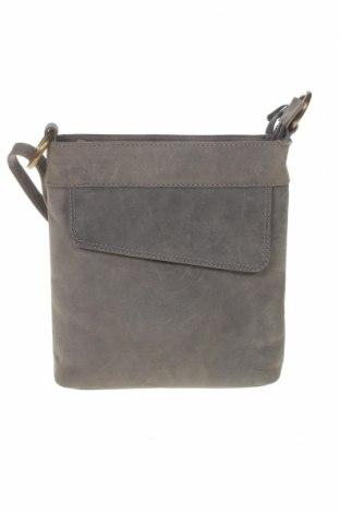 Γυναικεία τσάντα Nero Pantera, Χρώμα Γκρί, Φυσικό σουέτ, Τιμή 36,63€