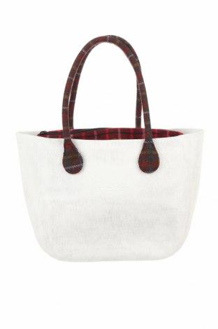 Дамска чанта O bag, Цвят Бял, Полиуретан, текстил, Цена 101,47лв.