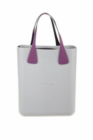 Дамска чанта O bag, Цвят Сив, Полиуретан, Цена 81,76лв.