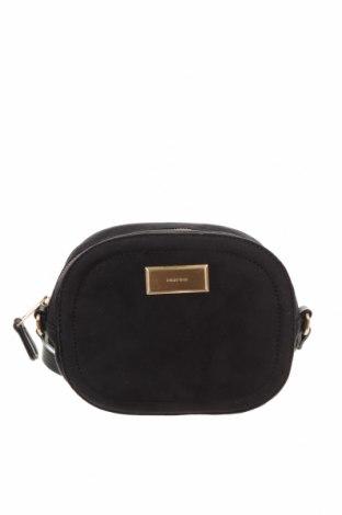 Дамска чанта Parfois, Цвят Черен, Текстил, Цена 27,30лв.
