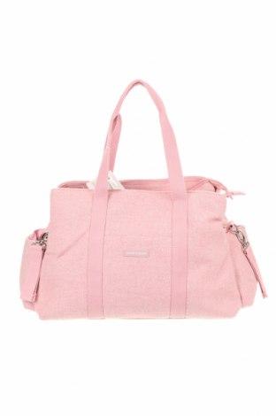 Γυναικεία τσάντα Pasito a Pasito, Χρώμα Ρόζ , Κλωστοϋφαντουργικά προϊόντα, Τιμή 24,54€