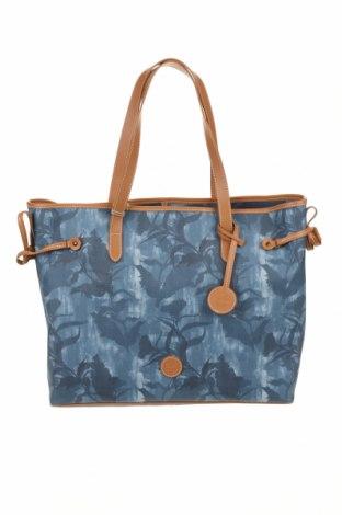 Γυναικεία τσάντα Timberland, Χρώμα Μπλέ, Δερματίνη, Τιμή 37,25€