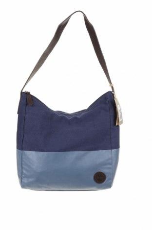 Dámská kabelka  Timberland, Barva Modrá, Textile , pravá kůže, Cena  1682,00Kč
