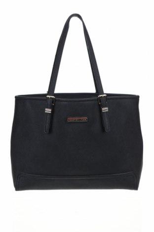 Γυναικεία τσάντα Tommy Hilfiger, Χρώμα Μαύρο, Δερματίνη, Τιμή 39,59€