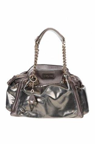 Γυναικεία τσάντα Versace, Χρώμα Χρυσαφί, Γνήσιο δέρμα, Τιμή 220,33€