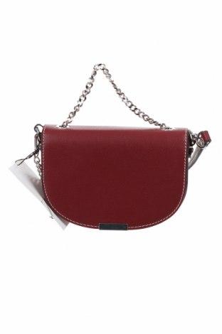 Γυναικεία τσάντα Zara, Χρώμα Κόκκινο, Δερματίνη, Τιμή 25,98€