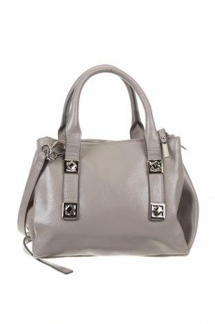 Дамска чанта Zara, Цвят Сив, Еко кожа, Цена 39,90лв.