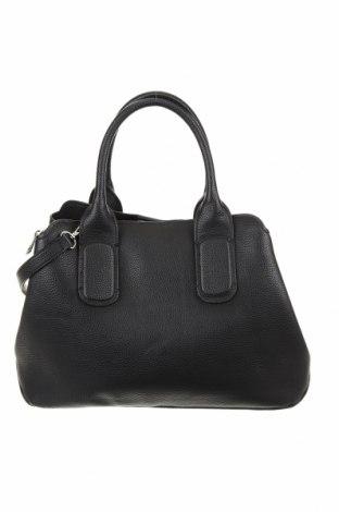 Дамска чанта Zara, Цвят Черен, Еко кожа, Цена 40,95лв.