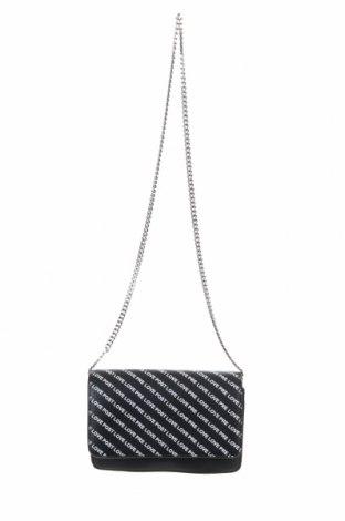 Дамска чанта Zara Trafaluc, Цвят Черен, Еко кожа, Цена 24,75лв.