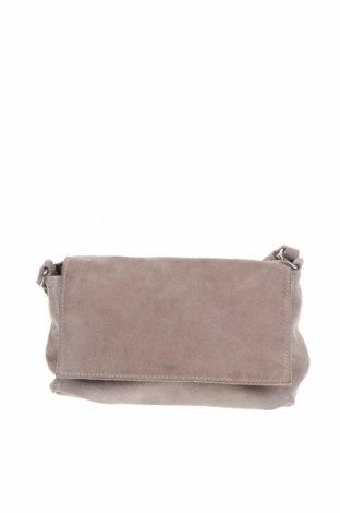 Γυναικεία τσάντα Zara Trafaluc, Χρώμα  Μπέζ, Φυσικό σουέτ, Τιμή 33,40€