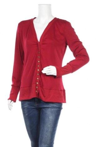 Дамска жилетка, Размер L, Цвят Червен, 65% памук, 35% полиестер, Цена 20,53лв.