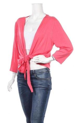 Дамска жилетка Adia, Размер 3XL, Цвят Розов, 95% вискоза, 5% еластан, Цена 5,44лв.