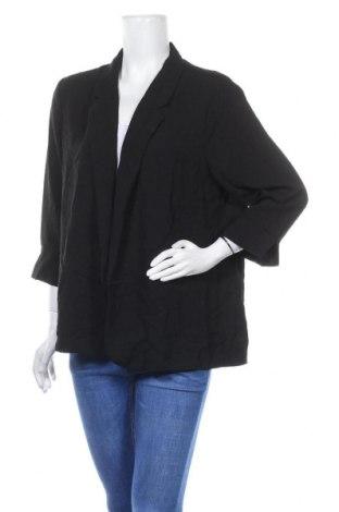 Дамска жилетка Clothing & Co, Размер XL, Цвят Черен, Полиестер, Цена 5,41лв.
