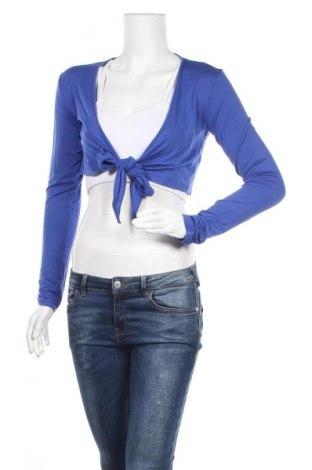 Γυναικεία ζακέτα Jbc, Μέγεθος S, Χρώμα Μπλέ, 96% βισκόζη, 4% ελαστάνη, Τιμή 3,86€