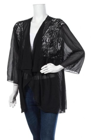 Дамска жилетка Olla Oh, Размер XL, Цвят Черен, 65% памук, 35% полиестер, Цена 22,31лв.