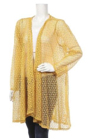 Дамска жилетка Suiteboutique, Размер XXL, Цвят Жълт, 95% полиестер, 5% еластан, Цена 13,86лв.