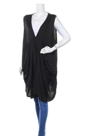 Дамска жилетка Ts, Размер 3XL, Цвят Черен, Полиестер, Цена 18,90лв.