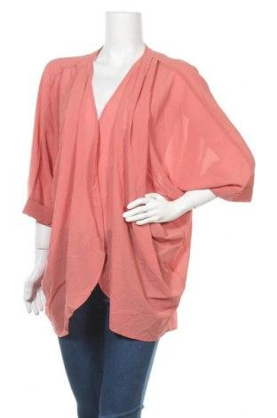 Дамска жилетка Zenana Outfitters, Размер XL, Цвят Розов, 100% полиестер, Цена 7,61лв.