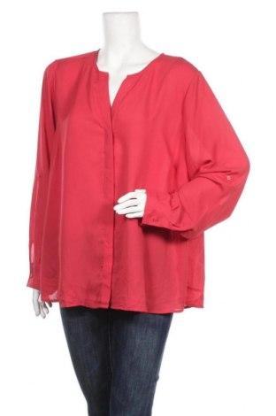 Дамска риза Tokito, Размер XXL, Цвят Червен, Полиестер, Цена 13,23лв.