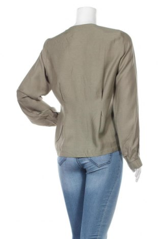 Дамска риза ASOS, Размер M, Цвят Зелен, 86% вискоза, 14% лен, Цена 36,75лв.