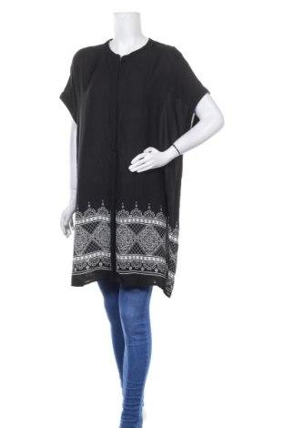 Дамска риза Alexia, Размер XXL, Цвят Черен, Полиестер, Цена 25,20лв.