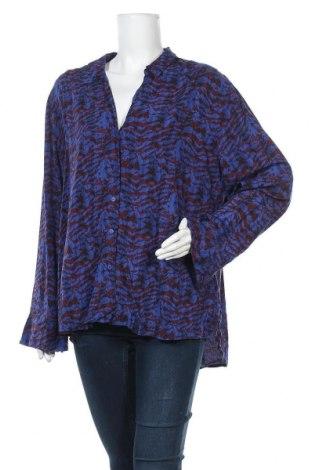 Дамска риза Blue Illusion, Размер XXL, Цвят Син, Вискоза, Цена 17,96лв.
