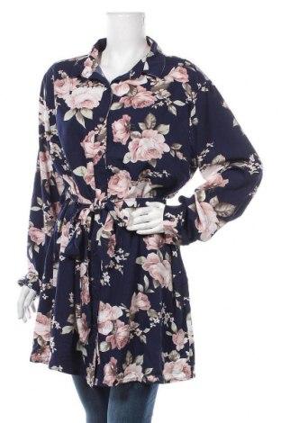 Дамска риза Boohoo, Размер XL, Цвят Многоцветен, Полиестер, Цена 18,90лв.