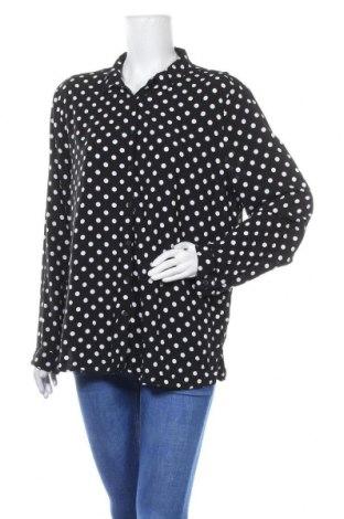 Дамска риза Cotton On, Размер XL, Цвят Черен, Вискоза, Цена 18,95лв.