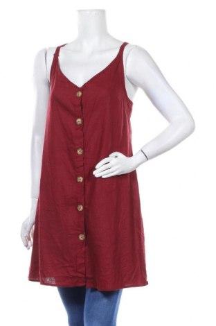 Дамска риза Cotton On, Размер XL, Цвят Червен, 55% лен, 45% вискоза, Цена 20,95лв.