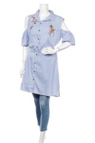 Дамска риза Disney, Размер XXL, Цвят Бял, Памук, полиамид, еластан, Цена 27,30лв.