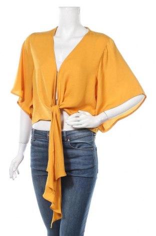 Дамска риза Dotti, Размер XL, Цвят Жълт, Полиестер, Цена 9,98лв.