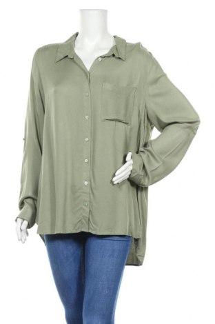 Дамска риза Dotti, Размер XL, Цвят Зелен, Вискоза, Цена 12,13лв.