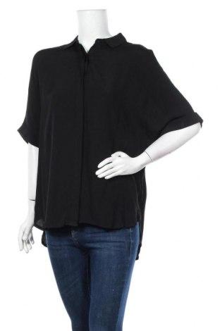 Дамска риза Dotti, Размер M, Цвят Черен, Вискоза, Цена 17,96лв.