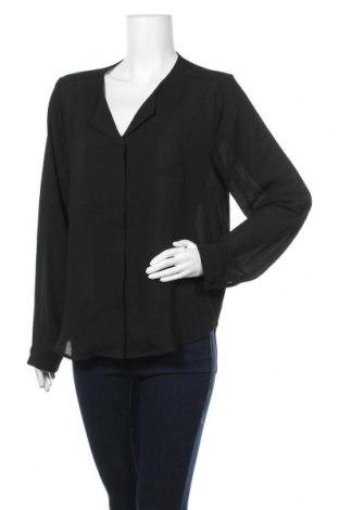 Дамска риза Fransa, Размер L, Цвят Черен, Цена 6,72лв.