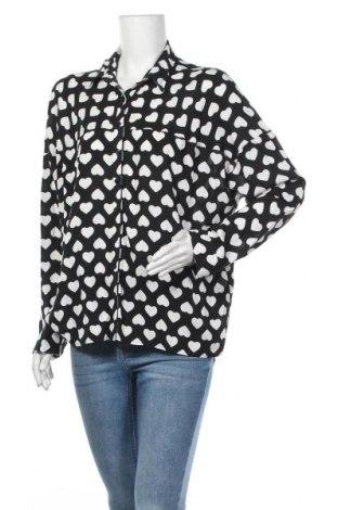 Дамска риза George, Размер XL, Цвят Черен, Вискоза, Цена 17,85лв.