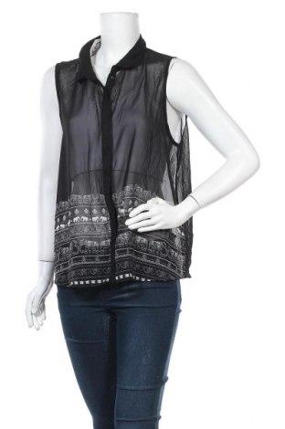 Дамска риза Girl Xpress, Размер XL, Цвят Черен, Полиестер, Цена 16,07лв.