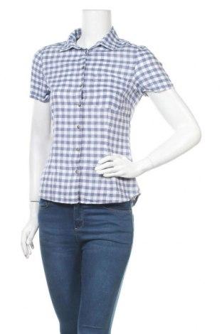 Дамска риза H&M L.O.G.G., Размер S, Цвят Син, Памук, Цена 14,70лв.