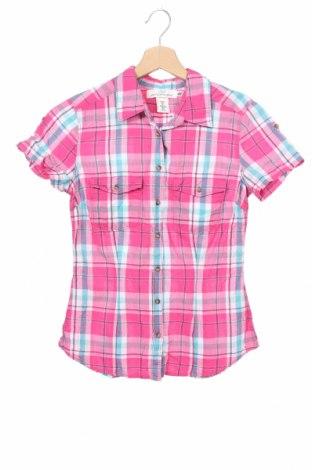 Дамска риза H&M L.O.G.G., Размер XS, Цвят Многоцветен, Памук, Цена 12,50лв.