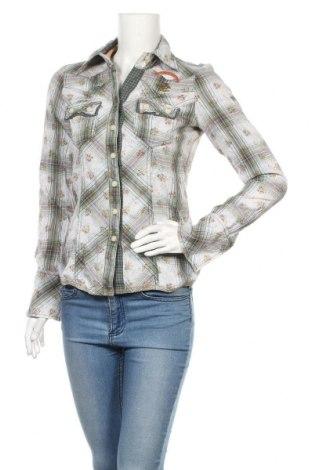 Дамска риза Khujo, Размер S, Цвят Многоцветен, Памук, Цена 34,50лв.
