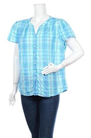 Дамска риза L.L. Bean, Размер XL, Цвят Син, Памук, Цена 14,28лв.
