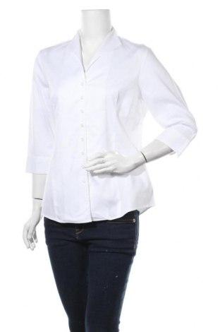 Дамска риза Lawrence Grey, Размер L, Цвят Бял, Памук, Цена 72,60лв.
