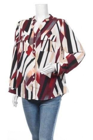 Γυναικείο πουκάμισο Liz Jordan, Μέγεθος XL, Χρώμα Πολύχρωμο, Πολυεστέρας, Τιμή 7,40€