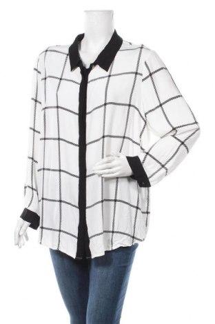 Γυναικείο πουκάμισο Maggie T, Μέγεθος XL, Χρώμα Λευκό, Βισκόζη, Τιμή 8,64€