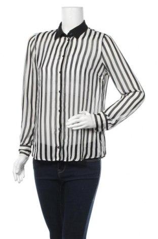Дамска риза Marks & Spencer, Размер S, Цвят Черен, Полиестер, Цена 18,90лв.